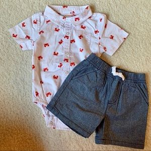 Gymboree Set - Size 6-12mos.